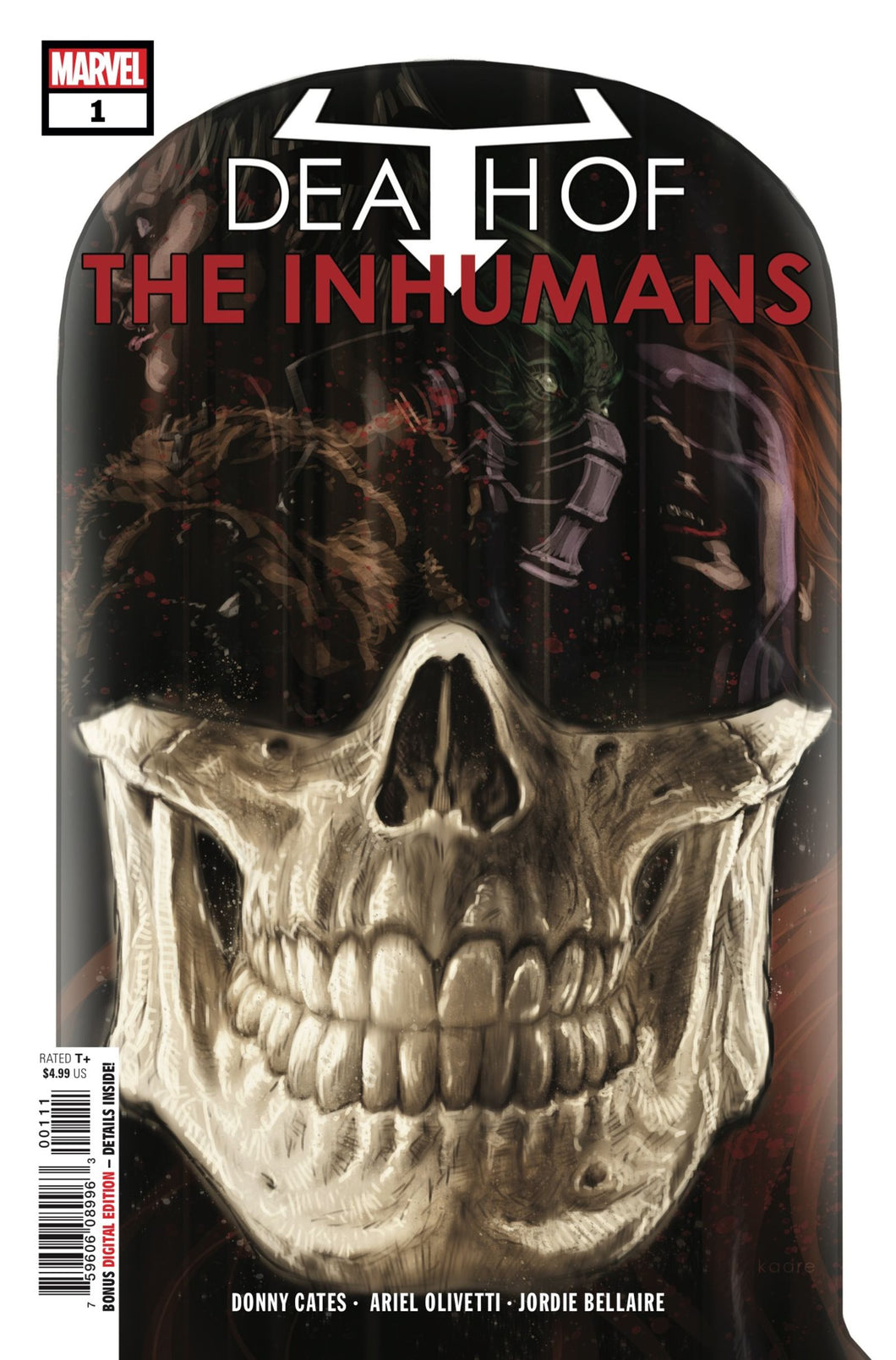 DEATH OF INHUMANS #1 (OF 5) (07/04/2018)