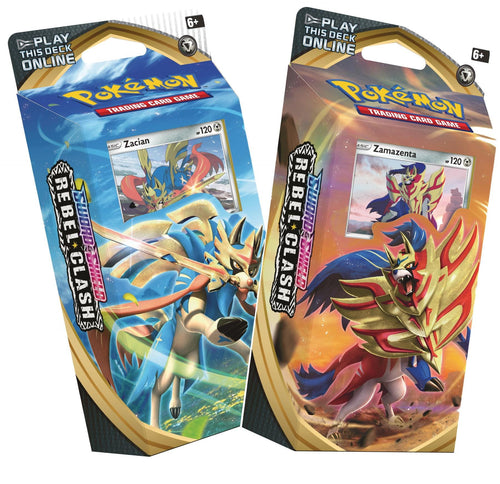 Pokemon: SS2 Sword & Shield - Rebel Clash Theme Decks