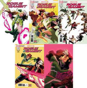 Rogue & Gambit Issue #1-#5 Bundle