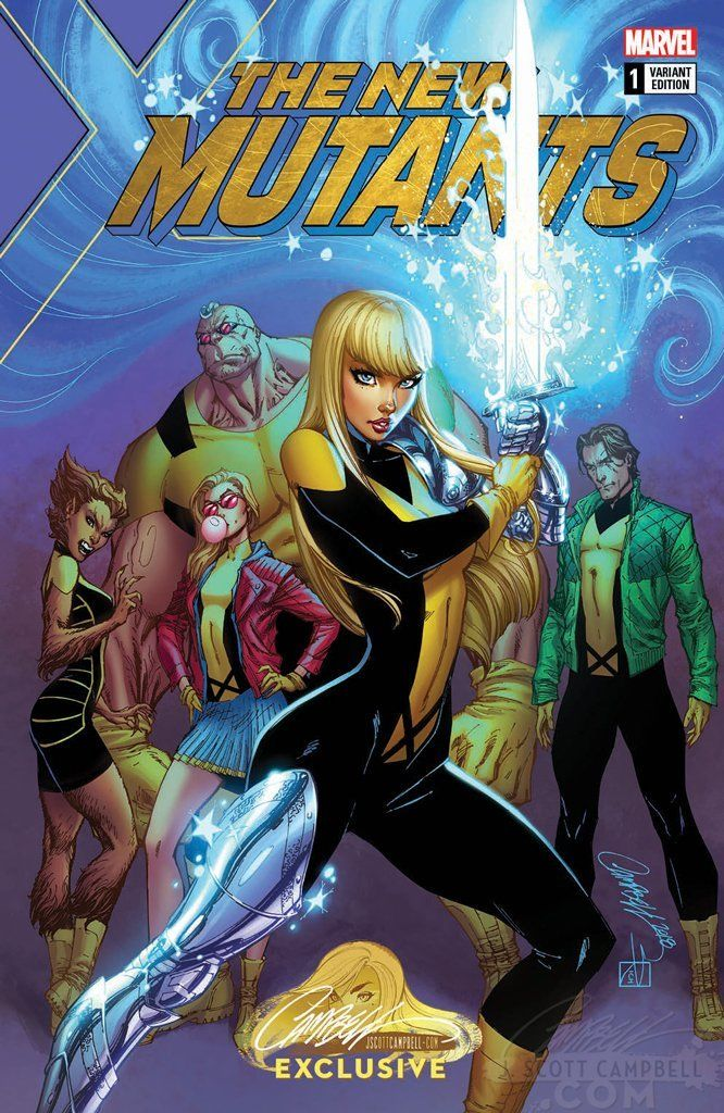 New Mutants Dead Souls #1 J Scott Campbell Cover A Magik Variant