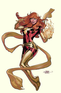 Phoenix Resurrection: The Return of Jean Grey #1 Terry Dodson Cover B Dark Phoenix VIRGIN Variant