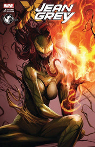 Jean Grey #1 Unknown Comics Francesco Mattina Cover B Variant
