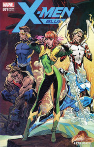 X-Men Blue #1 J. Scott Campbell Store EXCLUSIVE Variant
