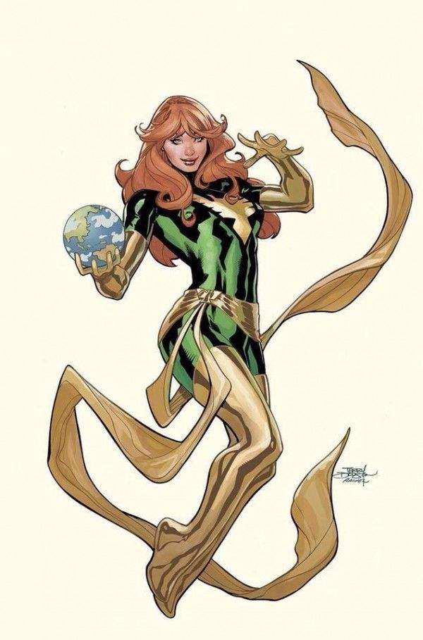Phoenix Resurrection: The Return of Jean Grey #1 Terry Dodson Cover C VIRGIN Variant