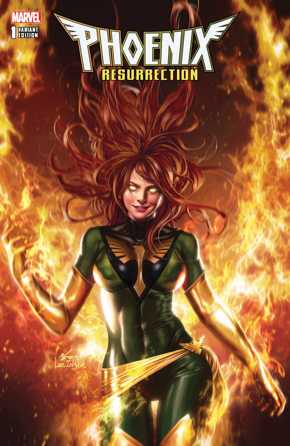 Phoenix Resurrection: The Return of Jean Grey #1 InHyuk Lee Variant