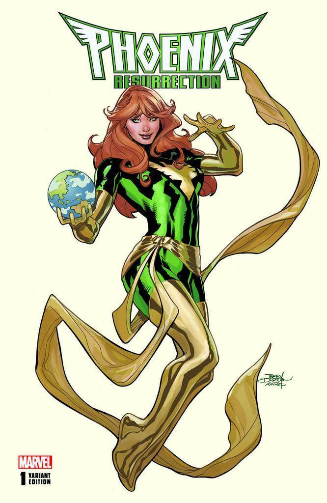 Phoenix Resurrection: The Return of Jean Grey #1 Terry Dodson Cover A Variant
