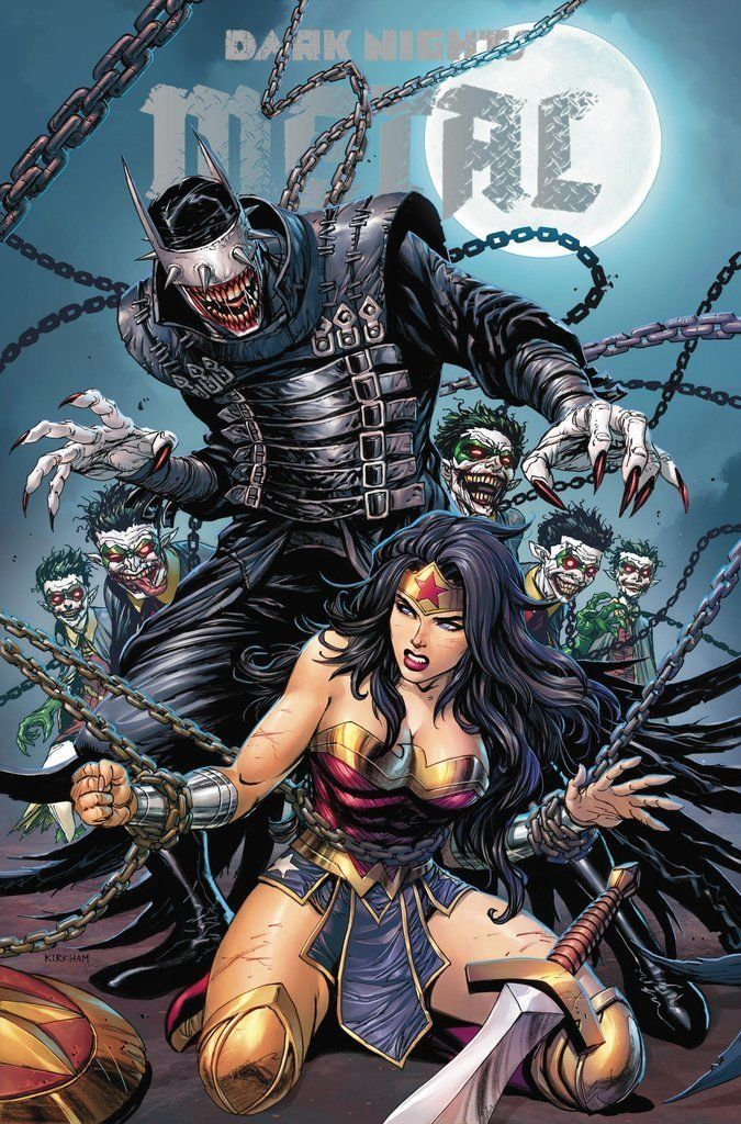 Dark Nights Metal #6 Exclusive Tyler Kirkham Unknown Comics Cover A Variant