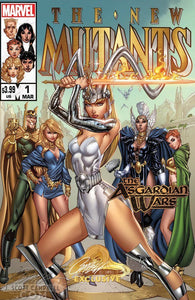 New Mutants Dead Souls #1 J Scott Campbell Cover B Asgardian Wars Magik Variant