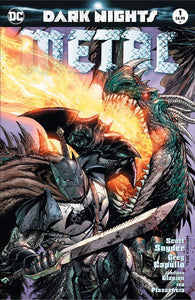 Dark Nights Metal #1 Exclusive Tyler Kirkham Unknown Comics Cover A Variant