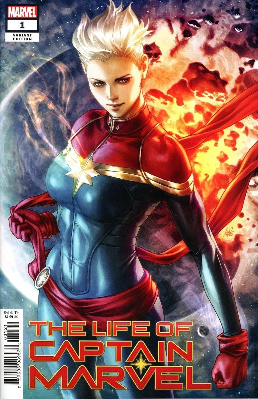 LIFE OF CAPTAIN MARVEL #1 (OF 5) ARTGERM VAR (07/18/2018)