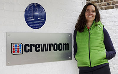 Kate Giles - Crewroom Founder