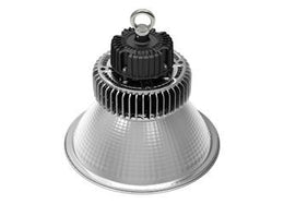 100 Watt LED Industrial Series High Bay with 4' whip - 5000K / 11180 LM / 5 Year Warranty