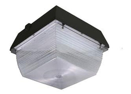90 Watt LED Canopy Fixture - Square - 5000K - 9000 Lumen - 5 Year Warranty