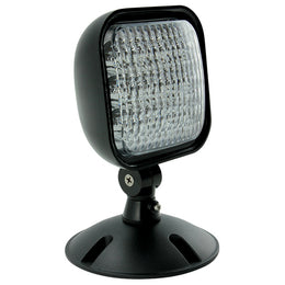 Remote LED Head Black  Low Voltage