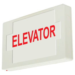 ELEVATOR SIGN - LED - UNIVERSAL MOUNT - BATTERY