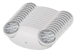 White Led emergency lights low profile 90 minute battery