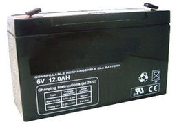 6V 12AH Sealed Lead Acid Battery