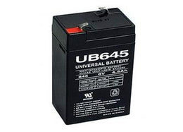 6V 4.5AH Sealed Lead Acid Battery For Exit Sign and Emergency Lights