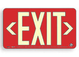 Battery Operated Exit Signs RED