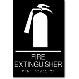 FIRE EXTINGUISHER ADA Sign