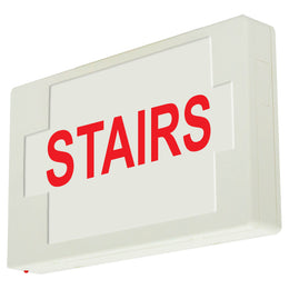 STAIRS SIGN - LED - UNIVERSAL MOUNT - BATTERY
