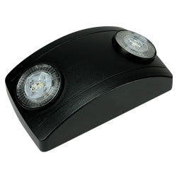 black high lumen emergency light 90 minute battery