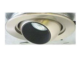 Satin Nickel Eyeball BLV91SN Trim 50W/MR16