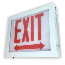 Wet Location Chicago Code Exit Sign
