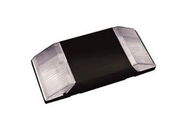 Deco Black Emergency Exit Light