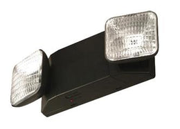 Thermoplastic Black Emergency Light Unit