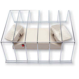 steel wire cage for exit lights and exit signs