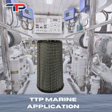 TTP 3000 HIGH PERFORMANCE STREET/RACING 4 INCH HIGH FLOW INTAKE KIT FORD POWERSTROKE 6.0L
