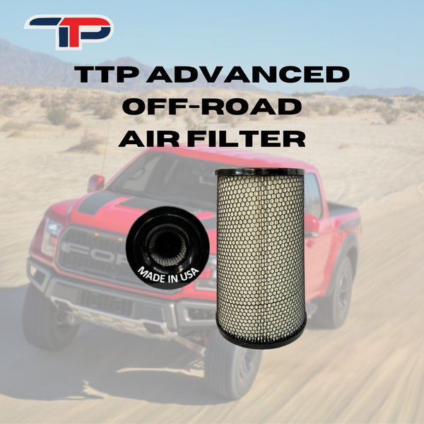 TTP ADVANCED OFF-ROAD HIGH PERFORMANCE AIR FILTER