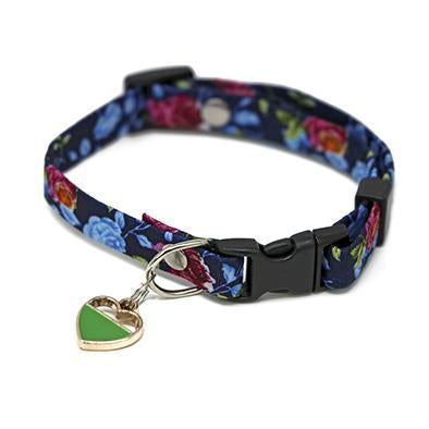 Autumn Blue Cat Collar-Collars-Biozoo-Biozoopets
