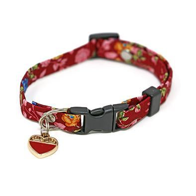 Autumn Red Cat Collar-Collars-Biozoo-Biozoopets