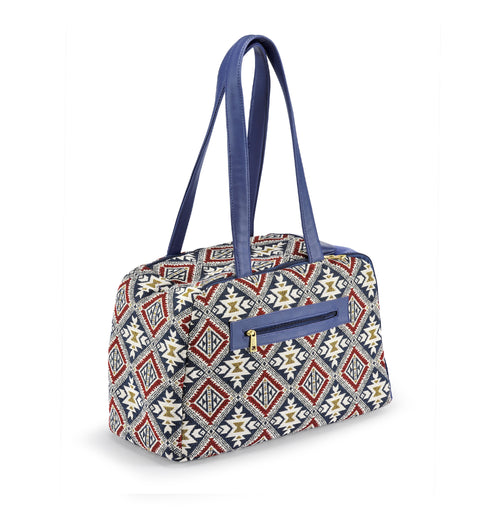 Bag boho chic-Handbag-Biozoo-Red & Blue-Biozoopets