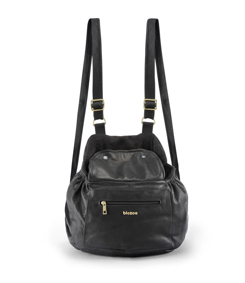 Camila Leather Casual Bag-Bag-Biozoo-Black-Biozoopets