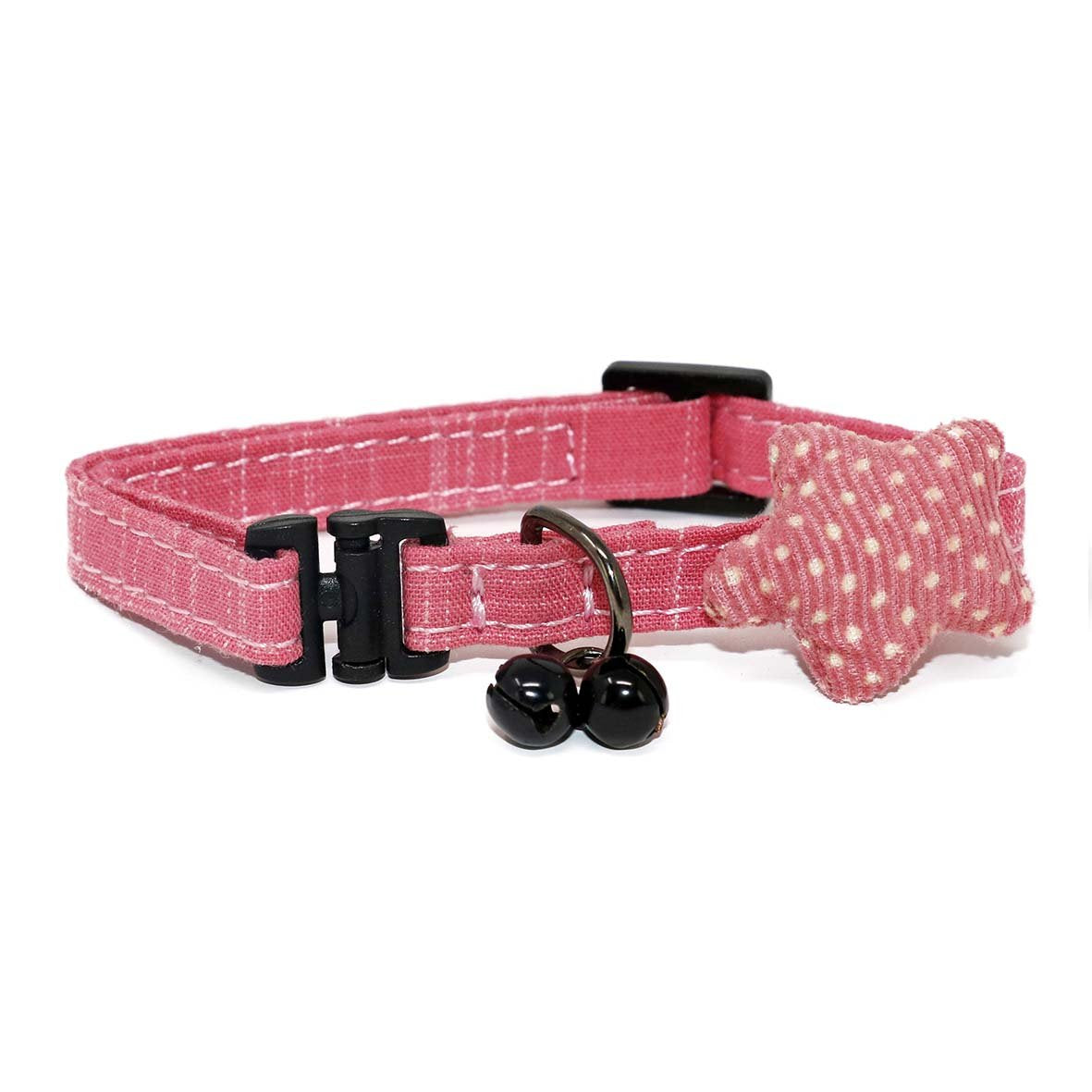Dark Blue Unique Cat Collar-Collars-Biozoo-Pink-Biozoopets