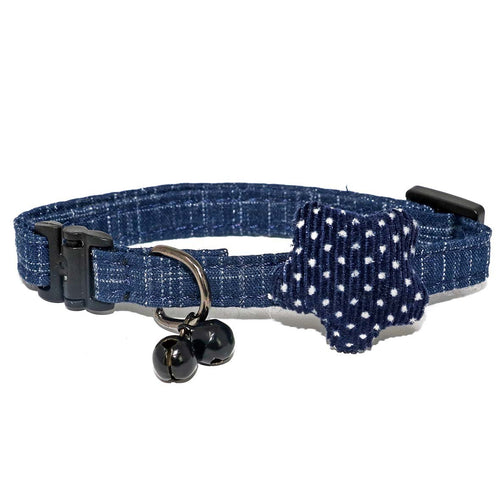 Dark Blue Unique Cat Collar-Collars-Biozoo-Dark Blue-Biozoopets