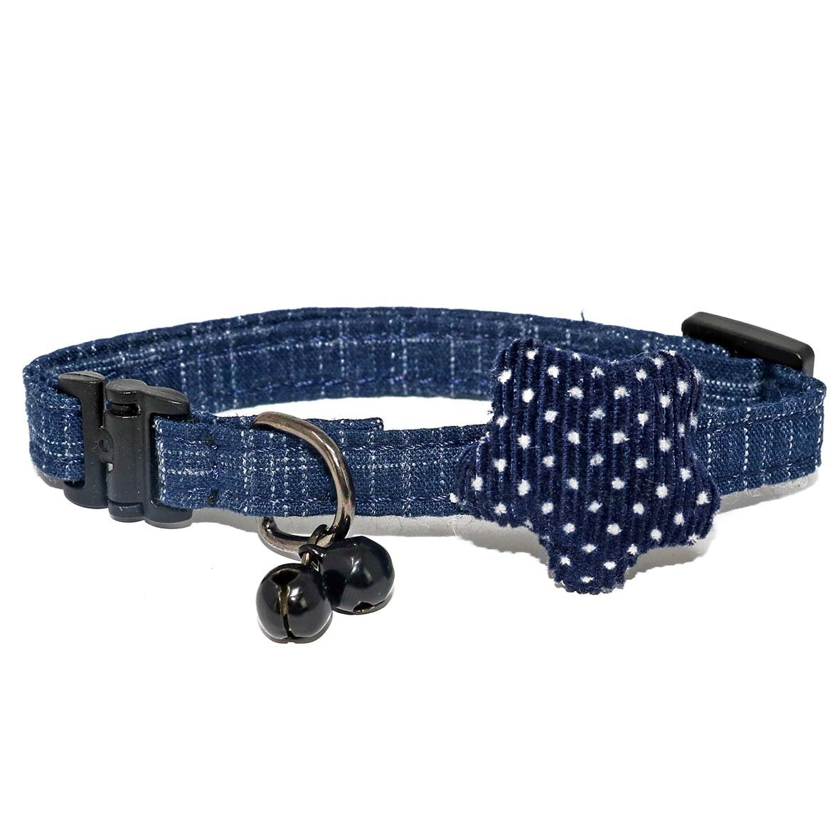 Light Blue Unique Cat Collar-Collars-Biozoo-Dark Blue-Biozoopets