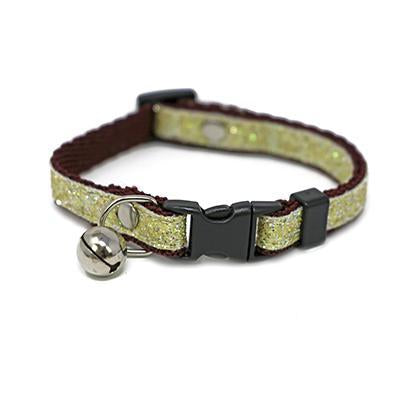 Lucie Yellow Cat Collar-Collars-Biozoo-Biozoopets