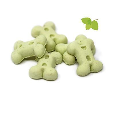 Mint bones for puppies 200g-Snacks-Biozoo-200-Biozoopets