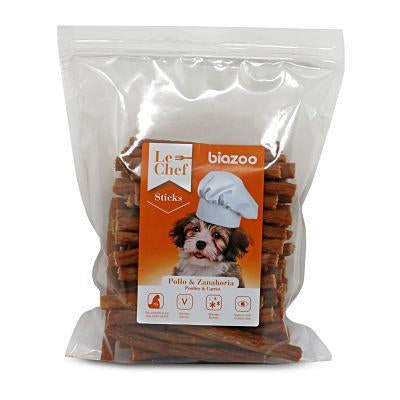 Poultry & Carrot sticks 500g-Snacks-Biozoo-500-Biozoopets