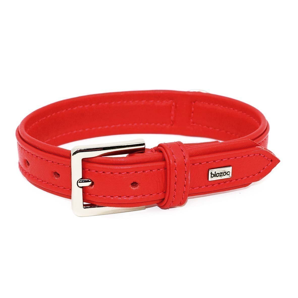 Provence Leather Collar-Collar-Biozoo-Red-35 x 1,5 cm-Biozoopets