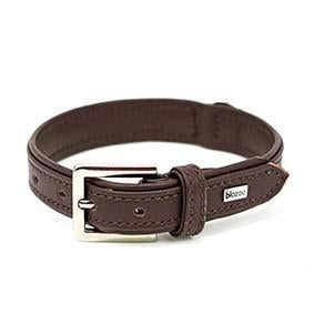 Provence Leather Collar-Collar-Biozoo-Brown-35 x 1,5 cm-Biozoopets