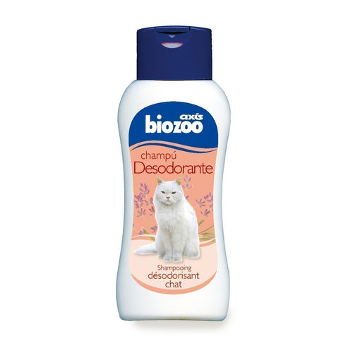 Shampoo with antiparasitic effect 250 ml-Shampoo for cats-Biozoo-Biozoopets