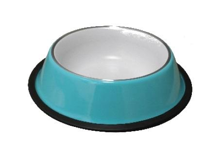 Silver Band Bowl-Bowl-Biozoo-Blue-Thin Band-0,22 L-Biozoopets