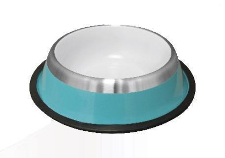 Silver Band Bowl-Bowl-Biozoo-Blue-Thick Band-0,22 L-Biozoopets