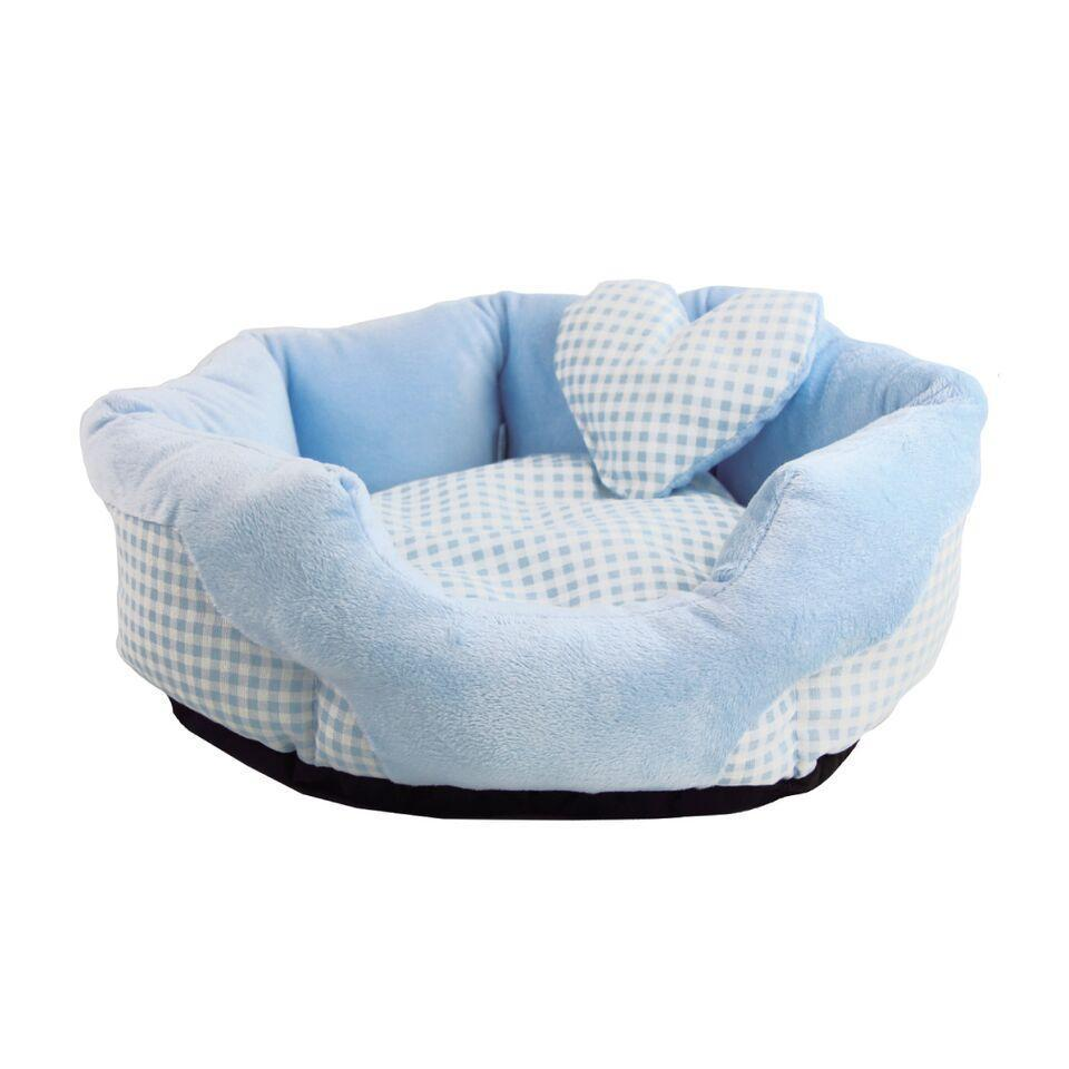 Soft Sweet Bed-Bed-Biozoo-Blue-Biozoopets
