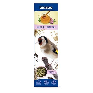 Sticks for goldfinches 2 pcs.-Sticks for birds-Biozoo-Honey-Biozoopets